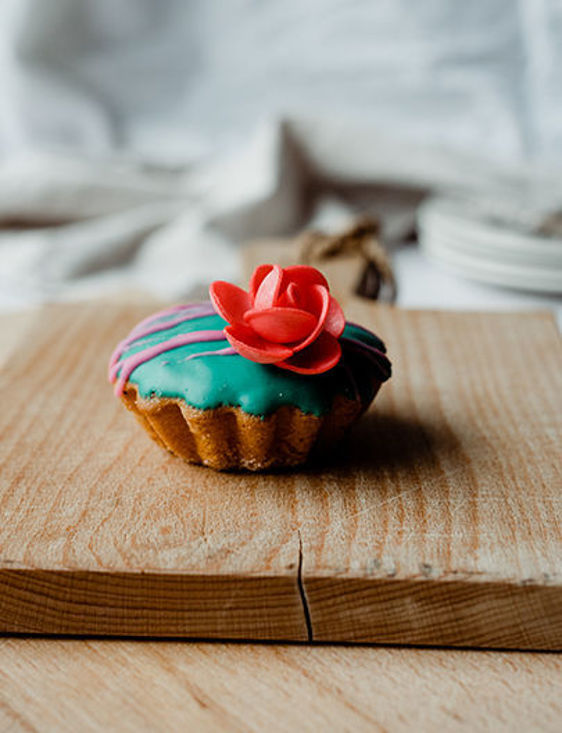 Afbeelding van Cupcake versierd
